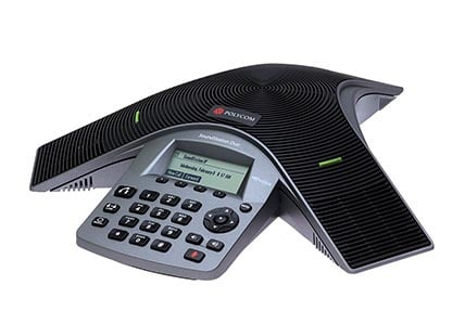 Polycom conference speakerphone