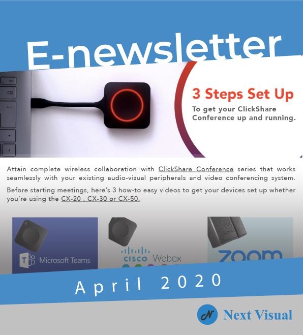 E-newsletter Apr 2020