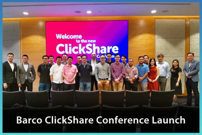 Barco ClickShare Conference Launch