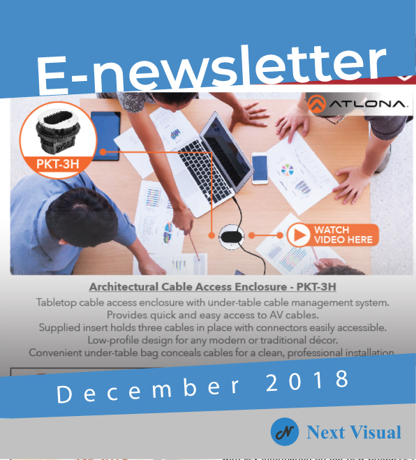 E-newsletter December 2018