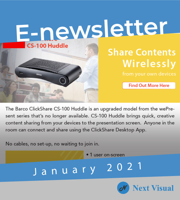 E-newsletter Jan 2021