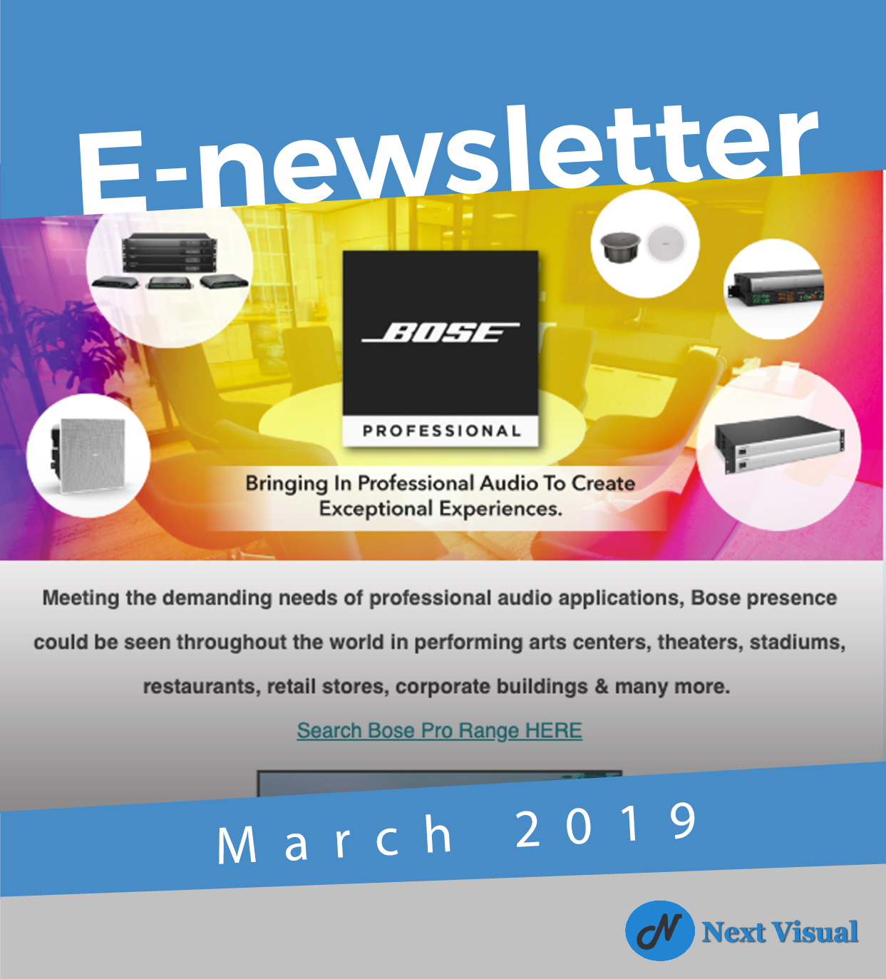 E-Newsletter March 2019