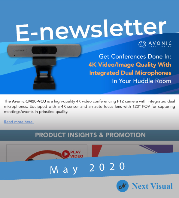 E-newsletter May 2020