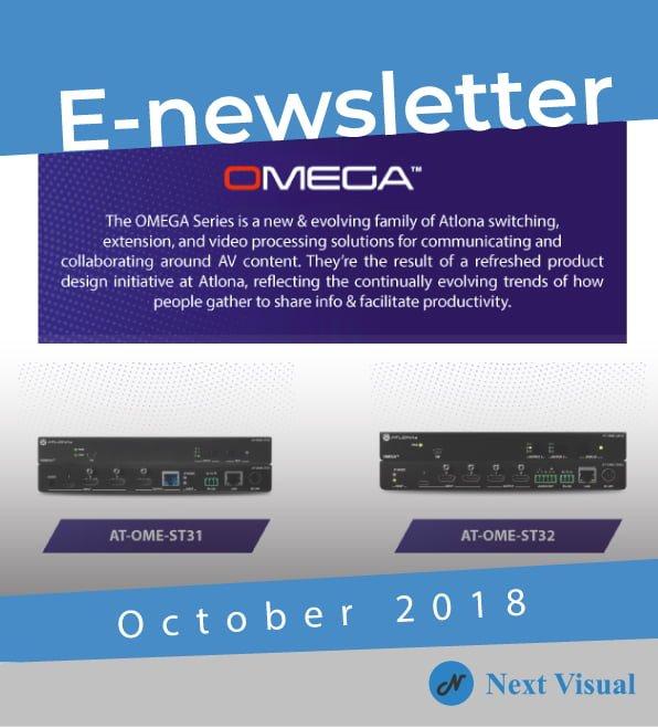E-newsletter October 2018
