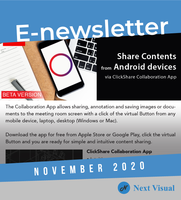 E-newsletter Nov 2020
