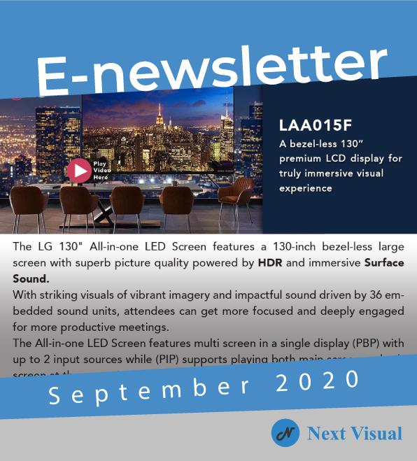E-newsletter Sept 2020