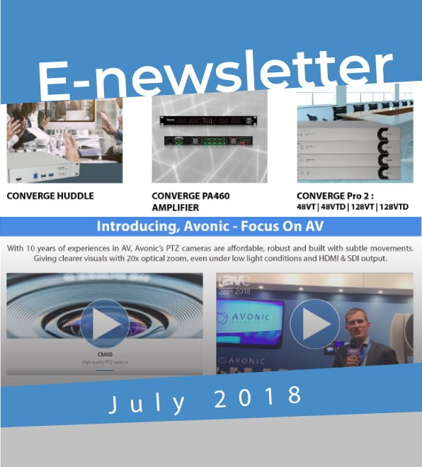 July Newletter 2018