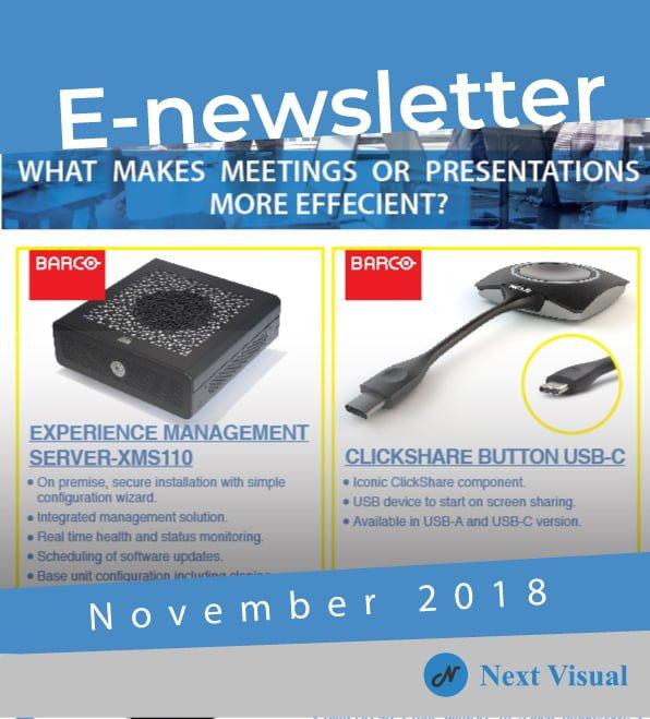 E-newsletter November 2018