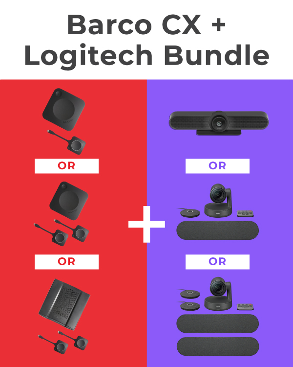 Barco CX + Logitech Bundle